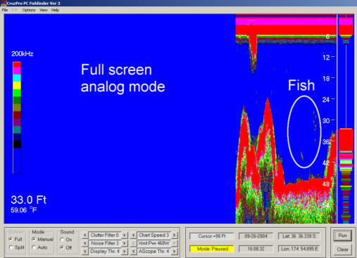 PcFF80 PC Fish Finder