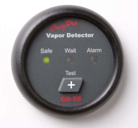 GD55 gas detector for LPG, petrol / gasoline, monitor and alarm