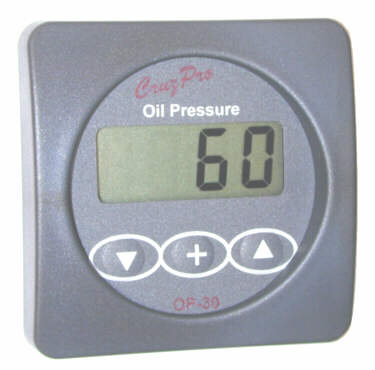 OP30 Digital Oil Pressure Gauge and Alarm