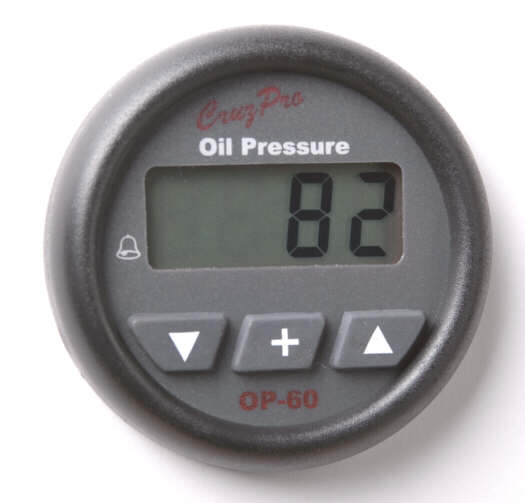 OP60 Digital Oil Pressure Gauge and Alarm