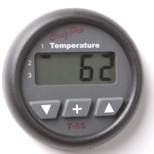 T65 Three Zone Temperature gauge